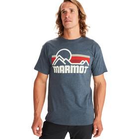 Marmot Coastal SS T-shirt Herrer, blå